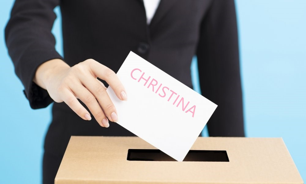 VOTEZ CHRISTINA